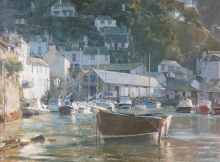 Curtis-David-Ebbing Tide - Polperro Harbour.jpg