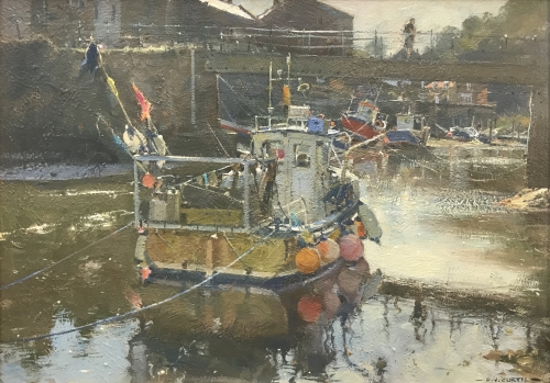 Curtis-David-Sharp Light and Still Water, Staithes.jpg
