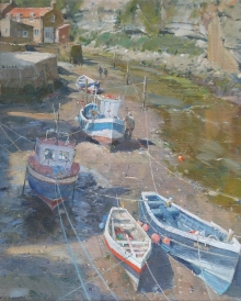 Curtis-David-Sheltered Moorings in the Beck - Staithes.jpg