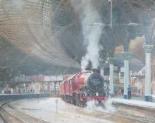 Curtis-David-The-11.03-Arrival---'Galatea'---York-Station.jpg