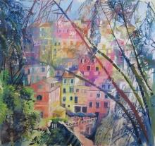 Davies-Maureen-Cinque-Terre-Through-Palms.jpg