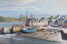 Denton_Kenneth_Midsummer morning Port of Auray.jpg