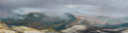 'Passing Cloud, the Descent of Ben Ledi' by Matthew Draper PS
