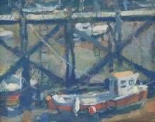 Famer-Andrew-Boat Resting, Scarborough Harbour.jpg