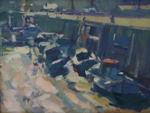 Farmer-Andrew-Boats in the harbour, scarborough.jpg
