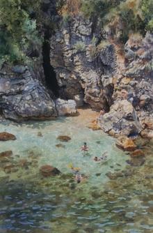Faulkner-Neil-Secluded Cove, Italy.jpg