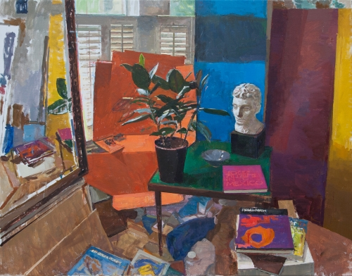 Fowler-Alex-Still Life With Plant And Plaster Head.jpg