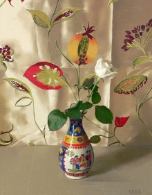 Galton-Jeremy-Chinese Vase with White Rose.jpg