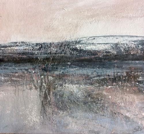 'Bitter Blas' pastel work by Julie Green
