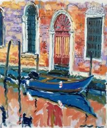 Hall-Alice-Moored Boat Venice.jpg