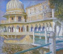 Horton-James-Courtyard at Udai Bilas Palace - Rajasthan.jpg