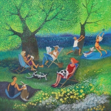 Chilling Out, Lisa Graa Jensen