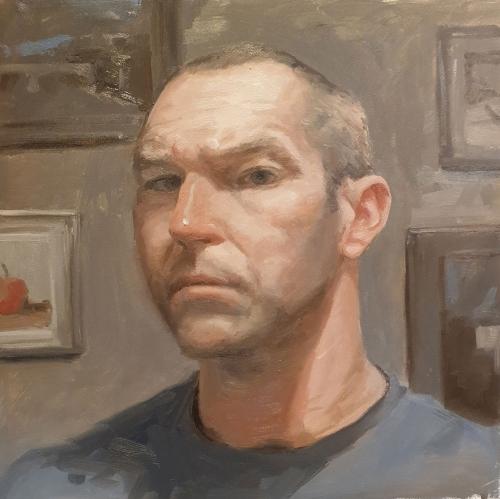 Alan Knight Self Portrait