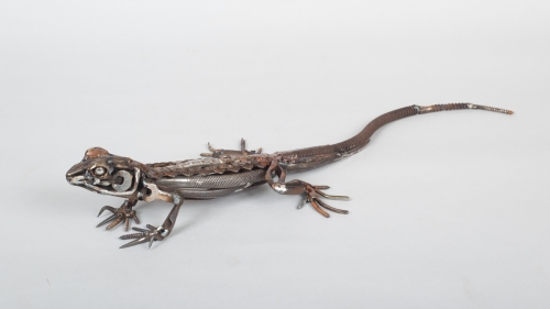 Mead-Harriet-Chainsaw chain Lizard.jpg