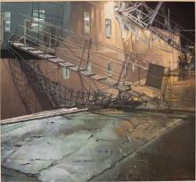 Mitchell-Brian-Scillonian at Night, Penzance.jpg