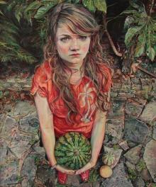 Murray-Ruth-Tessa with Watermelon.jpg
