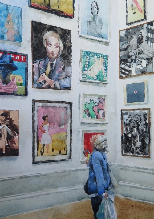 Myers Chris RBA RI Picture at an Exhibition .jpg