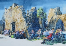 Myers-Chris-A Little Night Music in the Evening. Bayham Abbey.jpg