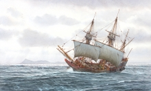 Myers_Mark_The Discovery of Cape Horn 29 Jan 1616.jpg