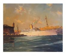 Nevin-Vincent-SS Canton in Grand Harbour, Malta.jpg