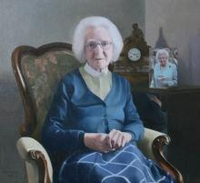Newens-David R-Artist's Mother at 100.jpg