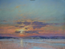 Norman-Michael-Autumn Sunset, Exmouth.jpg