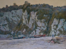 Norman-Michael-Winter Afternoon, Beer Cliffs.jpg