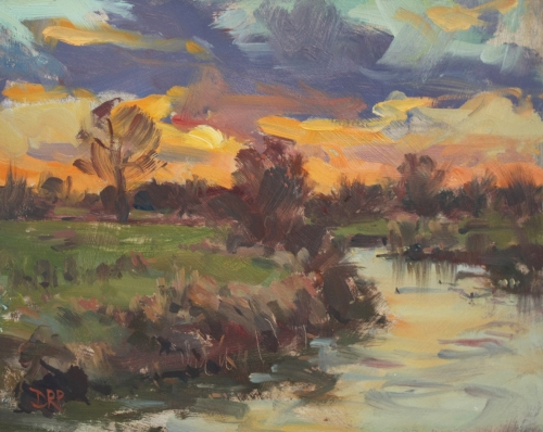 Pilgrim-David-Setting Sun over the River Ouse, Passenham.jpg