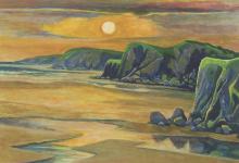 Slater-Richard-Beach at Sunset.png