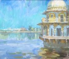 Spencer Pryse-Tessa-Lake Palace at Kishengar, Rajasthan.jpeg.jpg