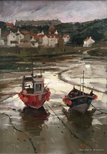 Haidee-Jo Summers Afternoon Light, Staithes