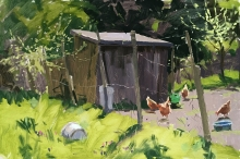 Haidee-Jo Summers Allotment Hens, Early Summer