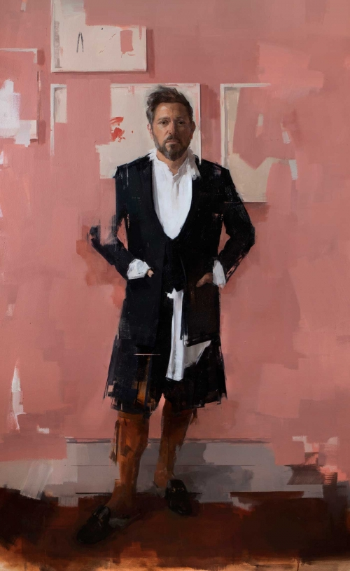 Rosalie Watkins Untitled Royal Society of Portrait Painters Annual Exhibition 2019