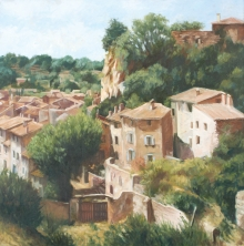 Wright_Anne_View of Cotignac.jpg
