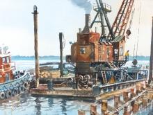 Wright_Bert_Steam Hammer dock construction.jpg