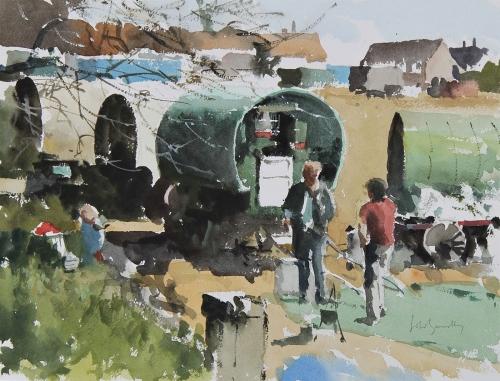 John Yardley RI The Horse Fair