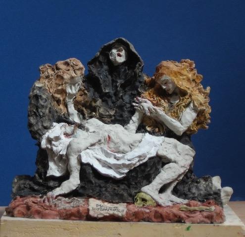 'Mater Dolorosa' sculpture by Alexander Goudie