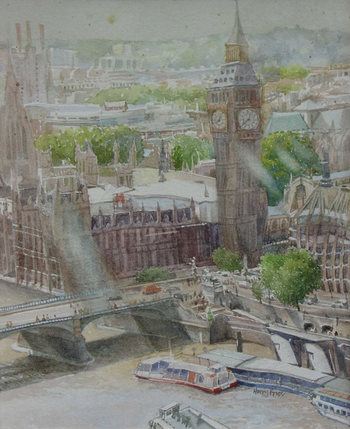 Harry-Price-Big-Ben-From-The-'Eye'