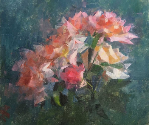 James Bland NEAC Roses Three in One