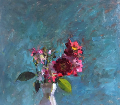 James Bland NEAC Tiny Red Roses