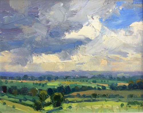 Lucy Kent Stormy Skies Mall Galleries