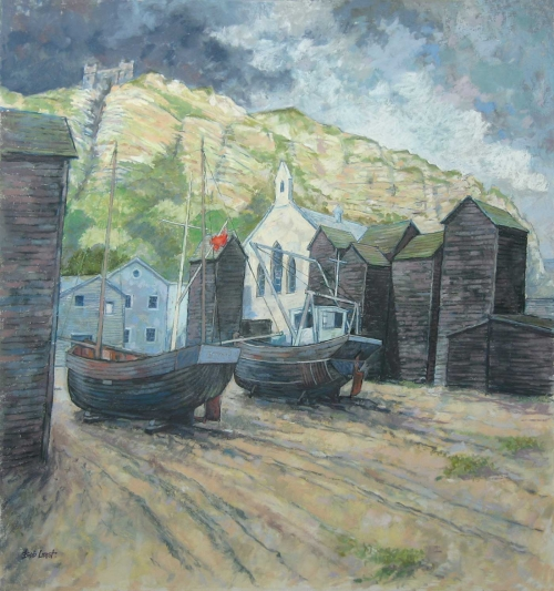 """Hastings"" Pastel by Bob Last"