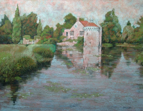 """Scotney Castle"" Pastel by Bob Last"