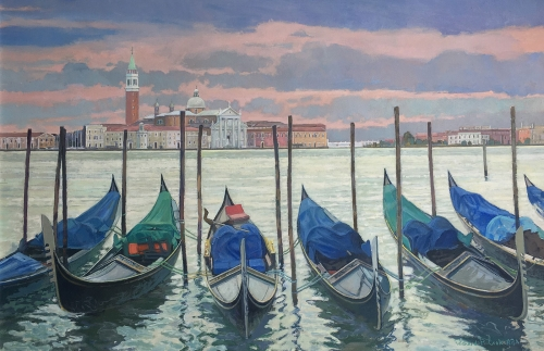 Richard Cook Painting of Venice