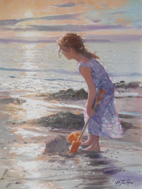 Towards Sunset by Nicholas St John Rosse