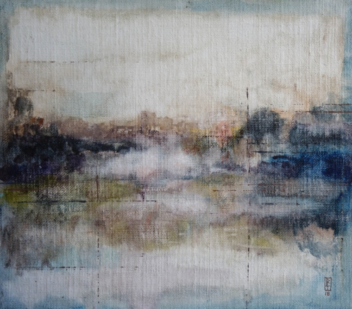 Morning on River Lee by Bernadett Timko
