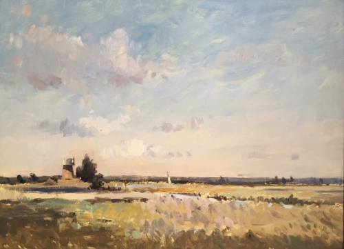 'Old Drainage Mill on the Thurne' by Tim Benson