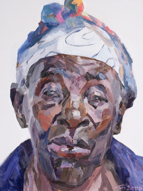 'Eneless, cataract patient, Kitwe Hospital Eye Annexe, Zambia' by Tim Benson