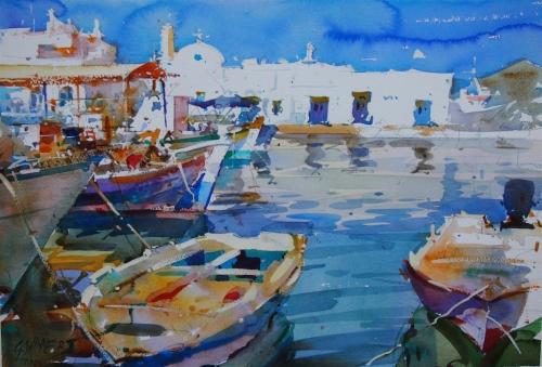 WEB Geoffrey Wynne - Greek Sketches, Nassau Paros.jpg