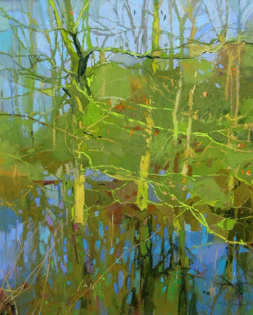 """Watermeadows"" Pastel by Sheila Goodman"